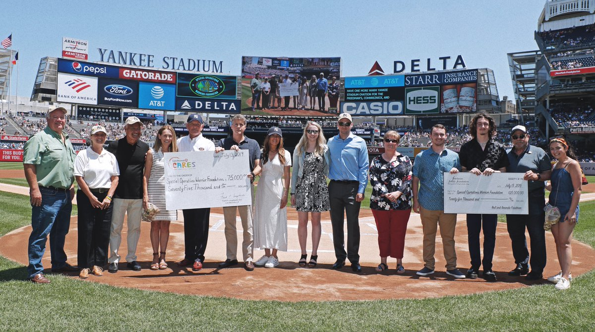 The New York Yankees Celebrate Military Appreciation Day with Special Operations Warrior Foundation