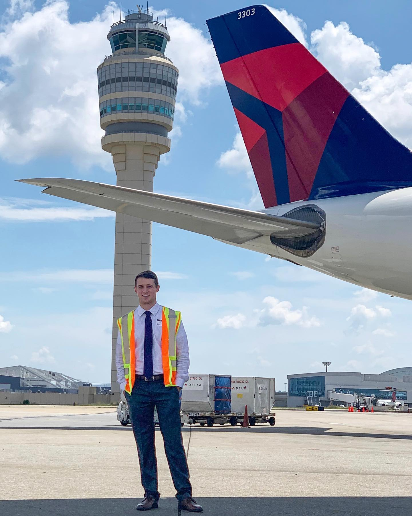 Jared Austin Thomas,<br>Graduated with a Bachelor of Science Degree in Professional Flight Management from Auburn University