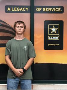 Monschke, Ryan Army Enlistment 2020